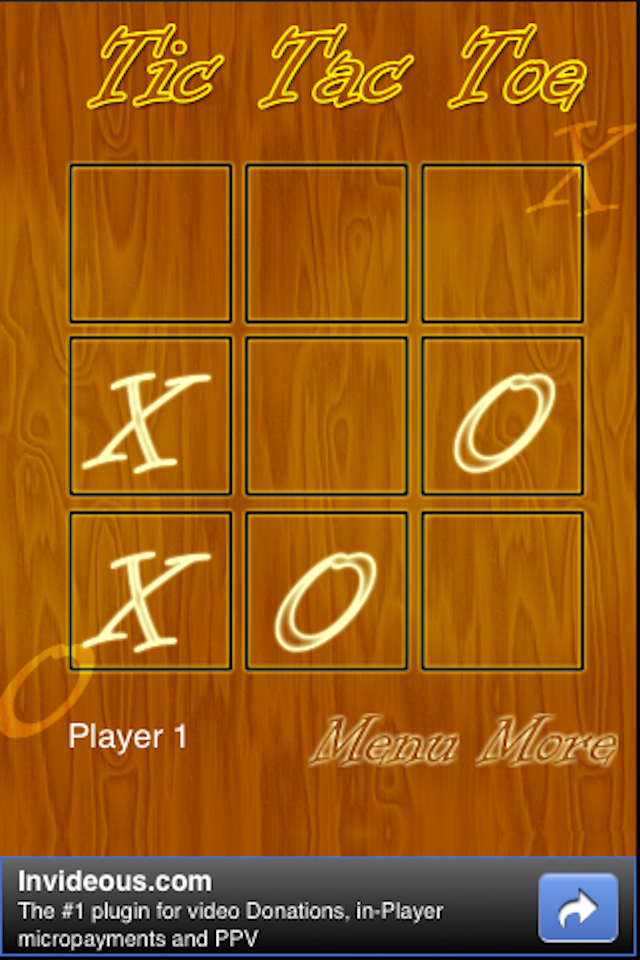 Screenshot Your Tic Tac Toe HD